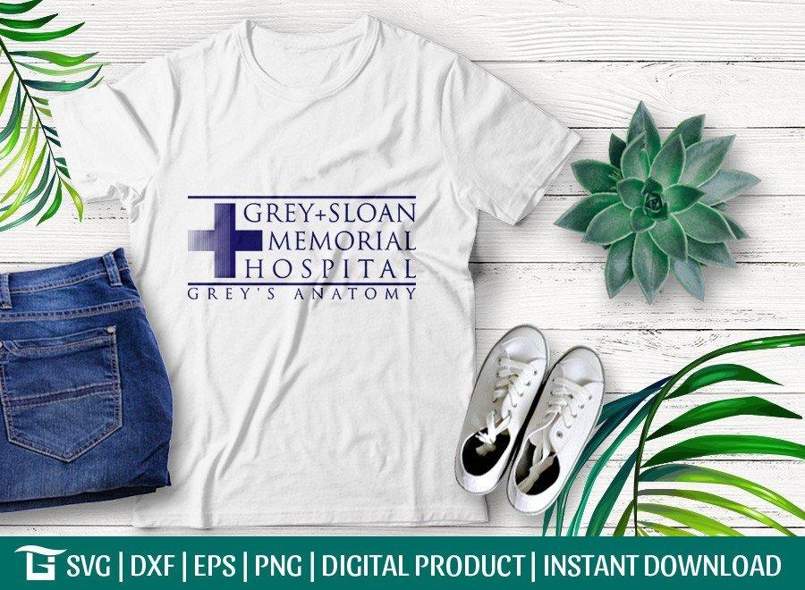 Grey+Sloan Memorial Hospital SVG | T-shirt Design