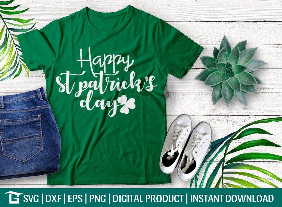 Happy St Patrick's Day SVG | T-shirt Design