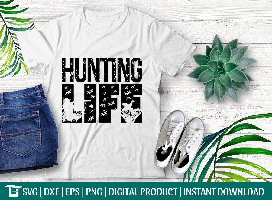 Hunting Life SVG | Bird Hunting SVG