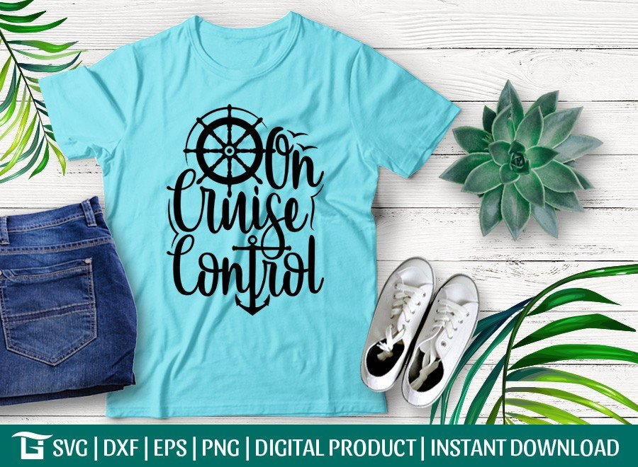 On Cruise Control SVG | Anchor SVG