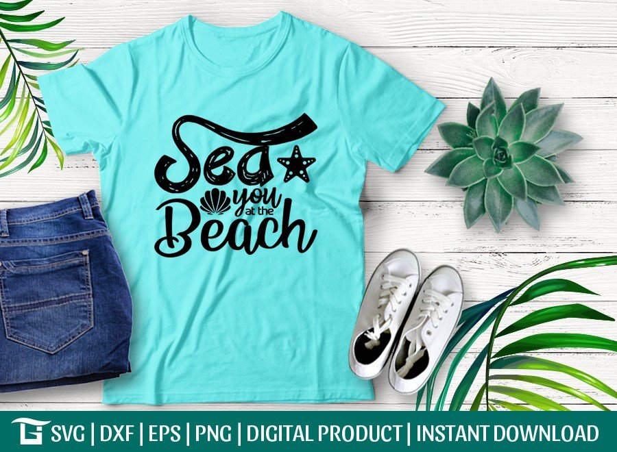Sea You At The Beach SVG | StarFish SVG