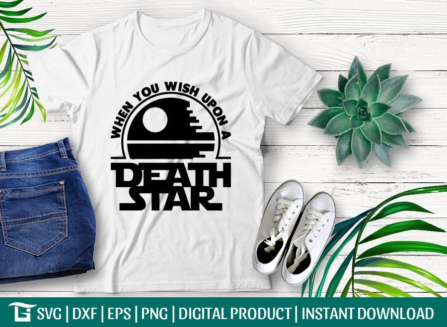 When You Wish Upon A Death Star SVG