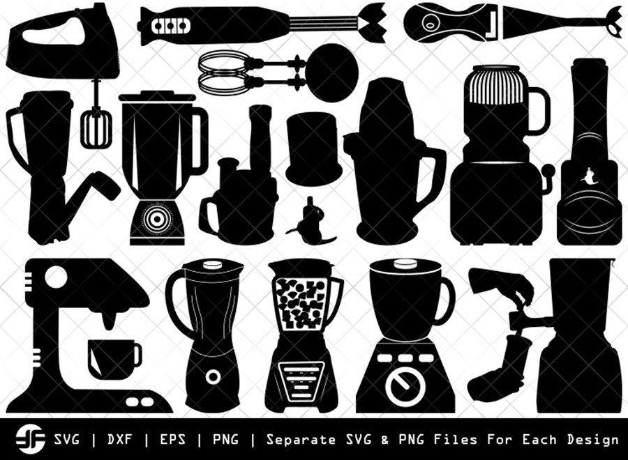 Blender SVG   Blender Silhouette Bundle   SVG Cut File