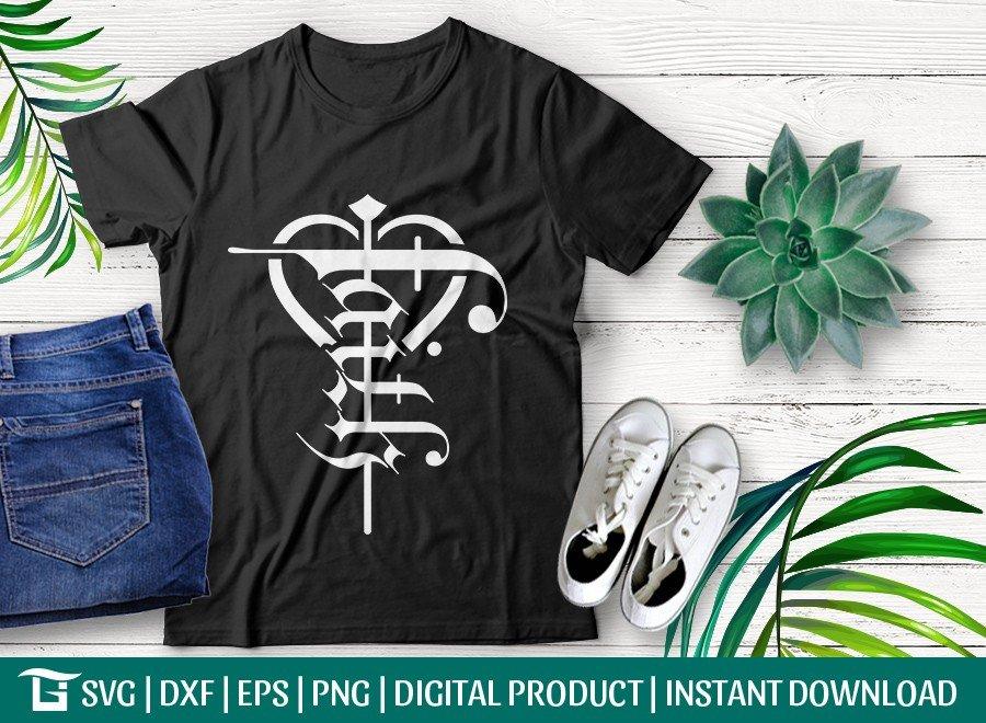 Faith SVG Cut File | Cross SVG | jesus T-shirt Design