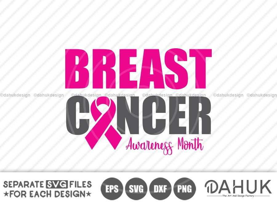 Breast Cancer Awareness Month 2020 SVG
