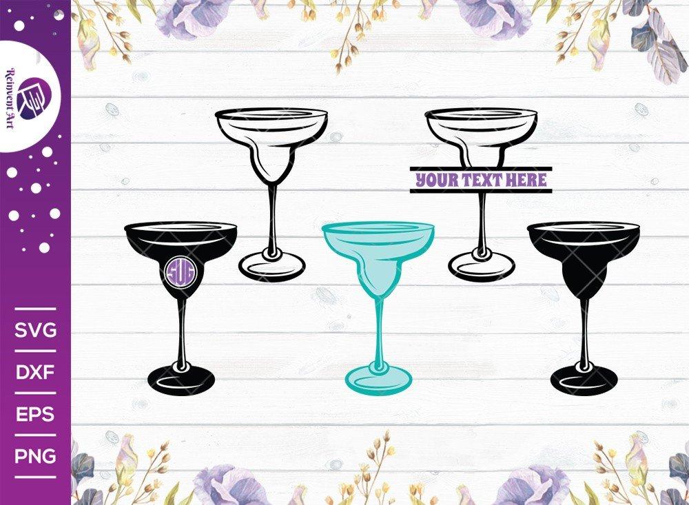 Margarita Glass SVG Cut File | Margarita Glass SVG