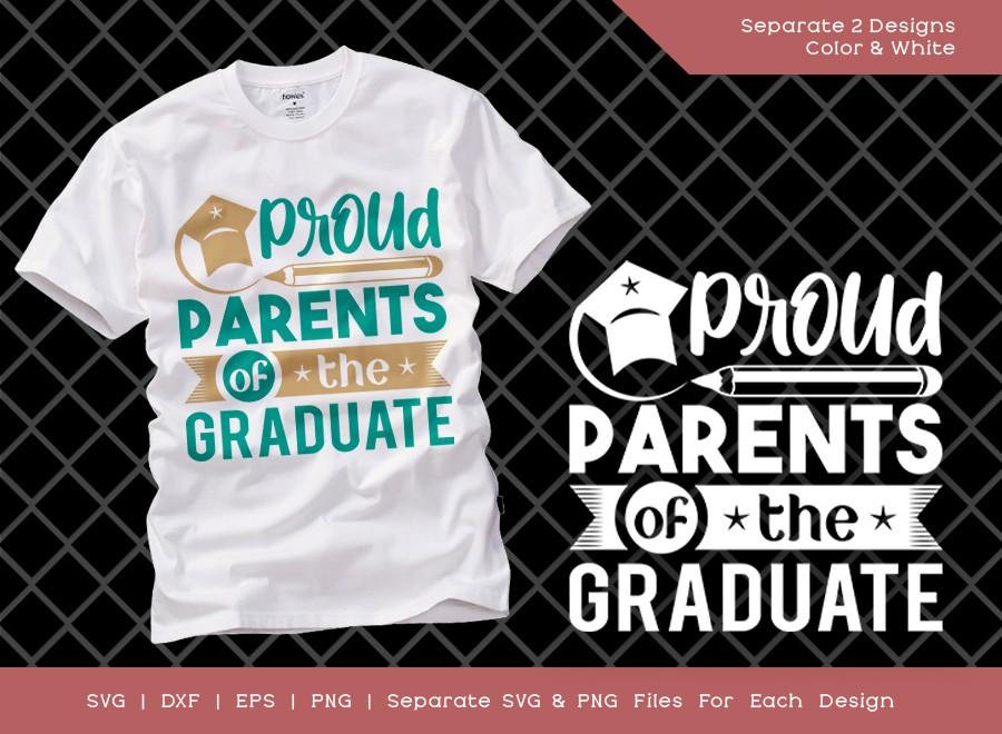 Proud Parents of the Graduate SVG Cut File | Graduation Svg