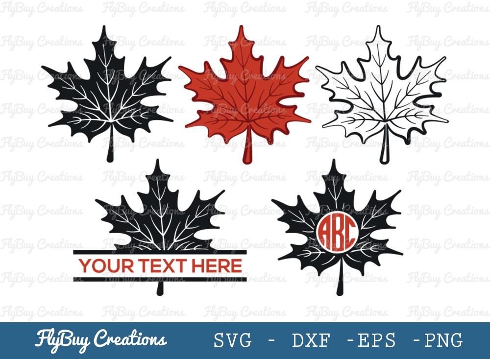 Autumn Leaves SVG Cut File   Fall Leaves SVG