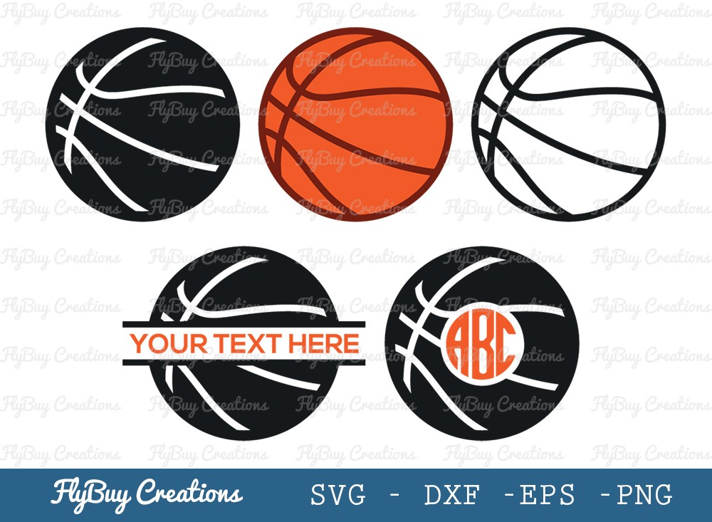 Basket Ball SVG Cut File   Sports Ball Svg