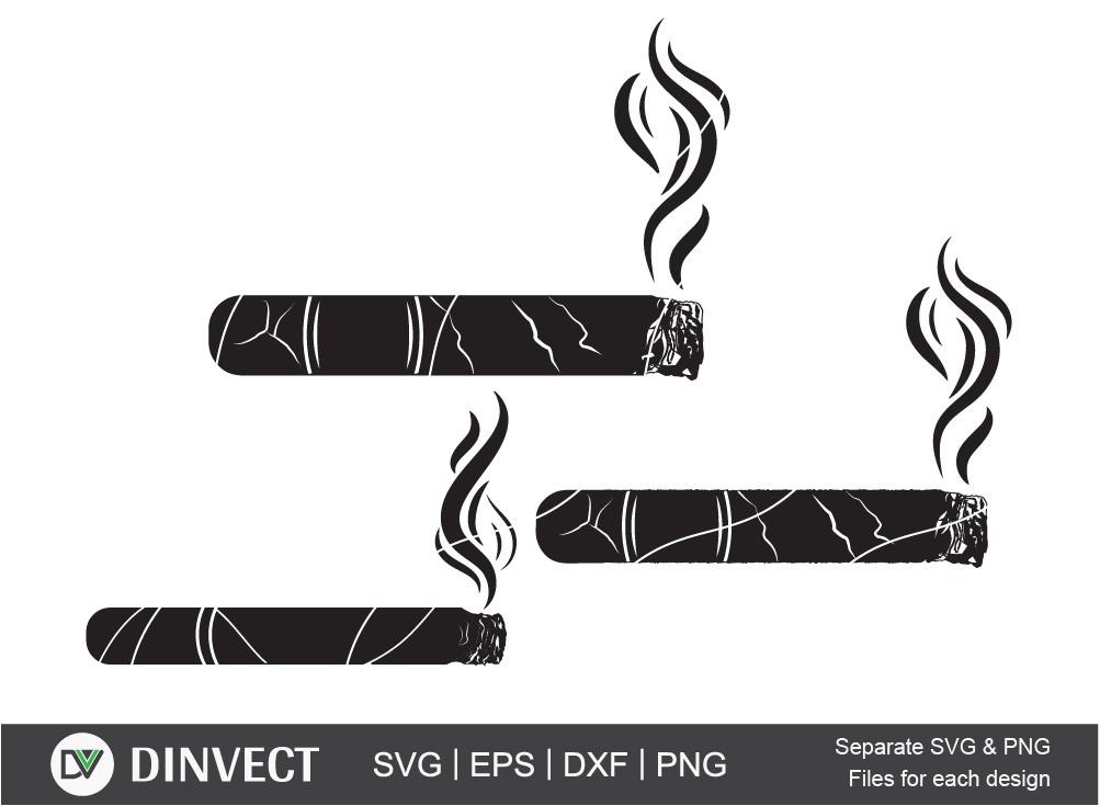 Cigar svg, Cigarette svg, Smoke svg, Tobacco svg
