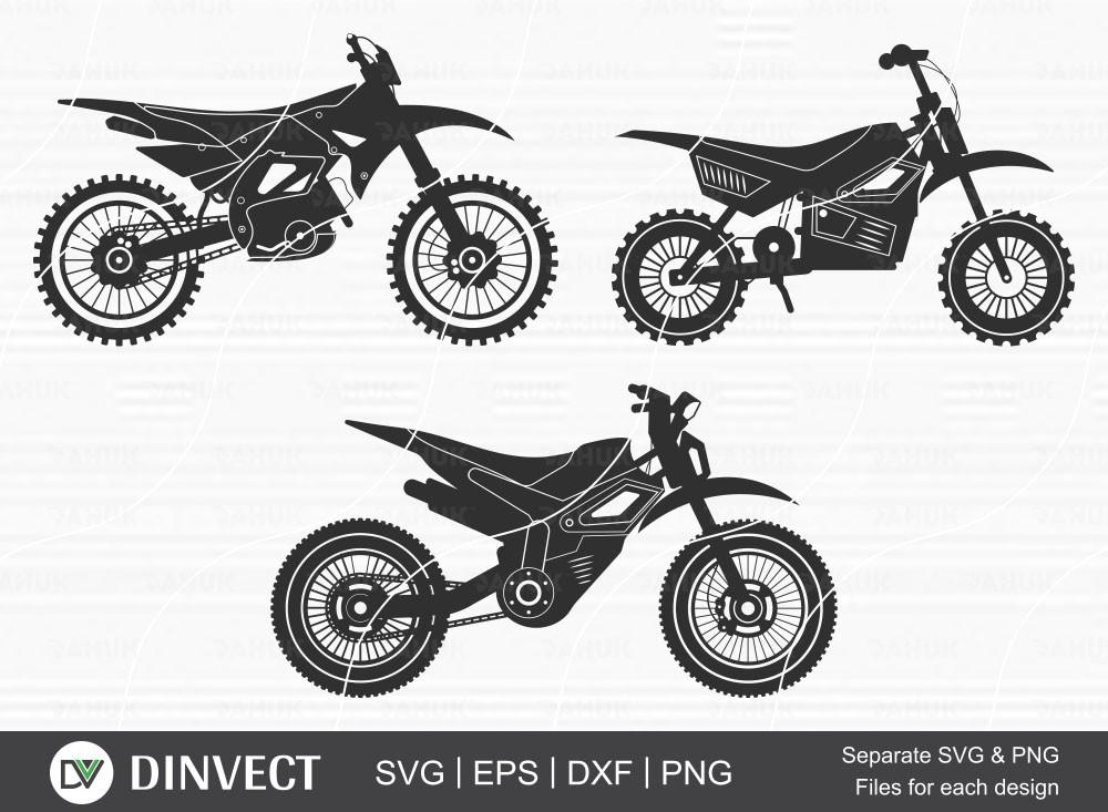 Motocross SVG, Motocross png, Dirt bike svg