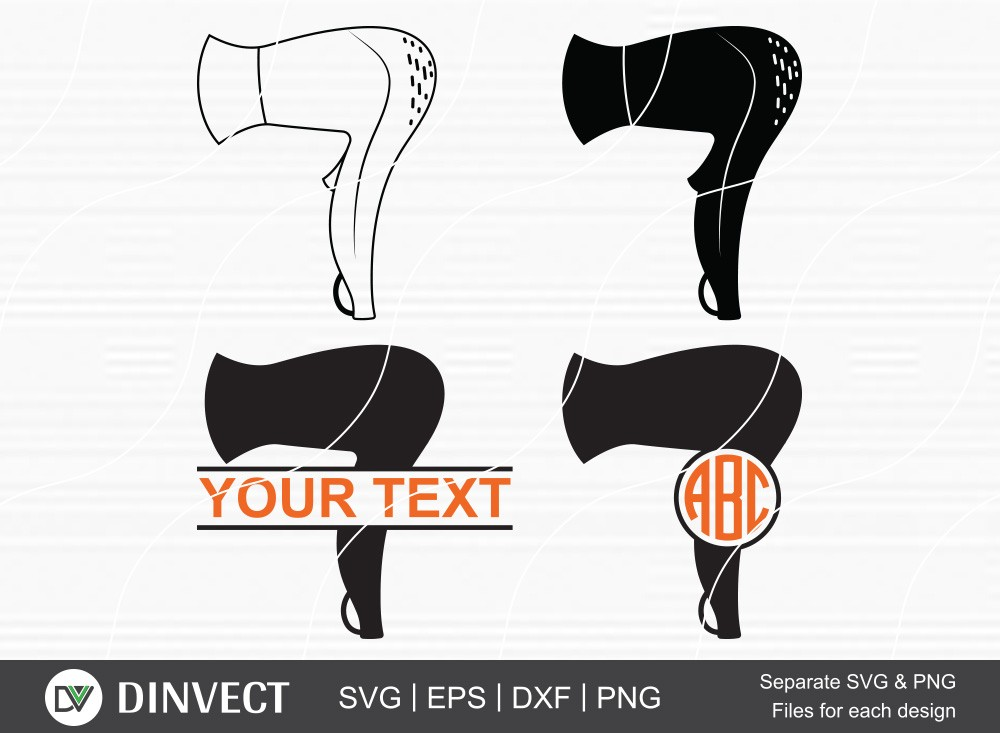 Hair Dryer SVG, Hair Dryer Silhouette