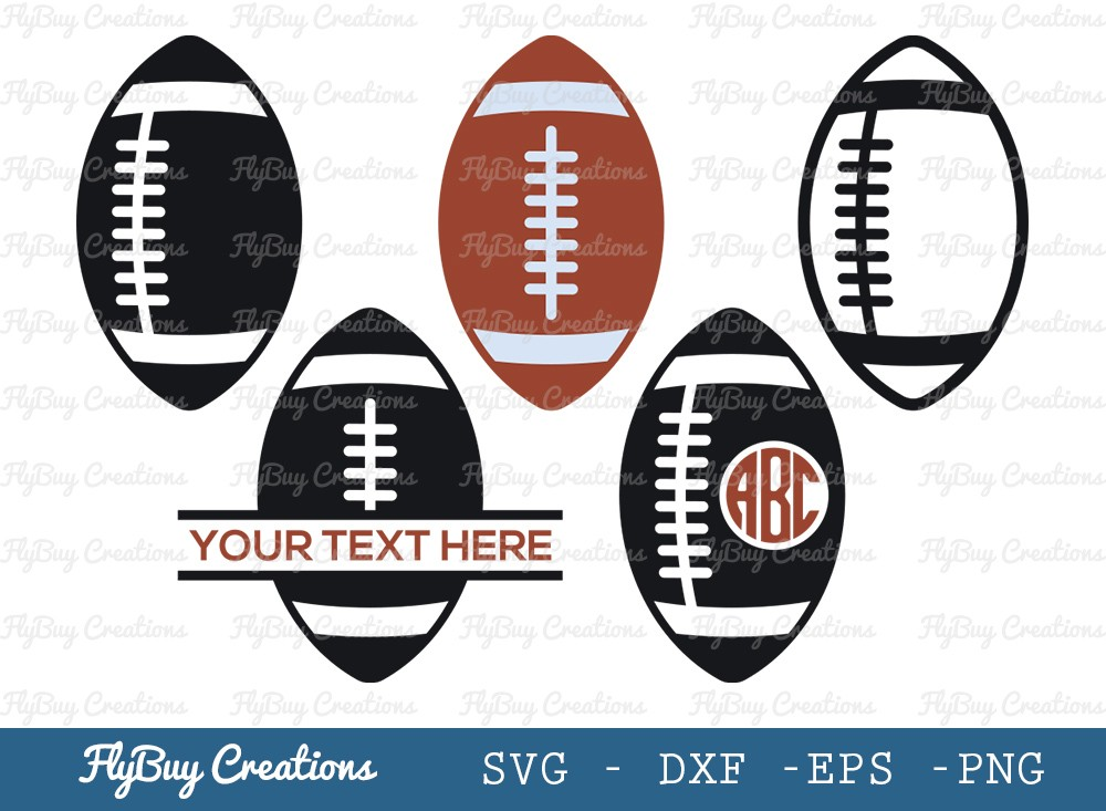 Rugby Ball SVG Cut File   Rugby Ball Svg