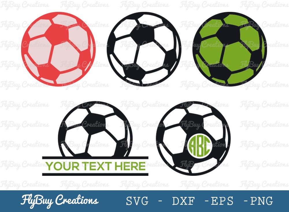 Soccer Ball SVG Cut File   Sports Ball Svg
