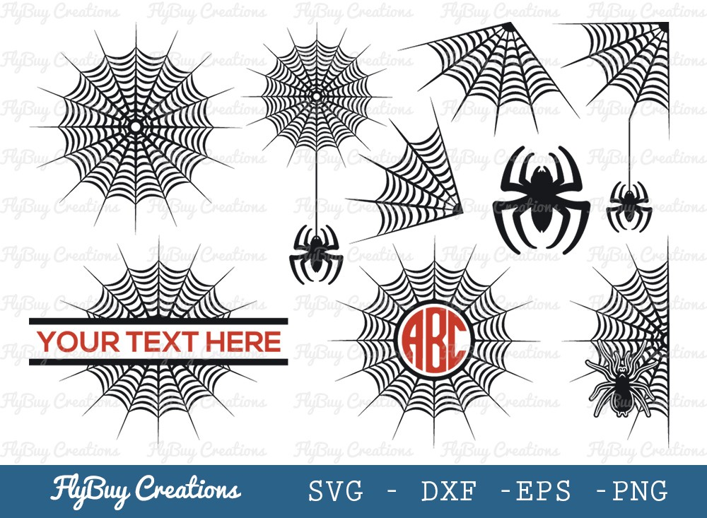 Spider Web SVG Cut File | Spider | Halloween