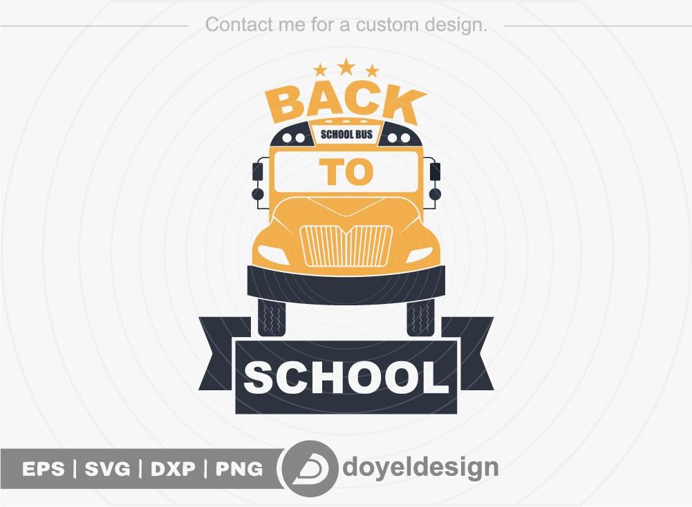 Back To School SVG Cut File