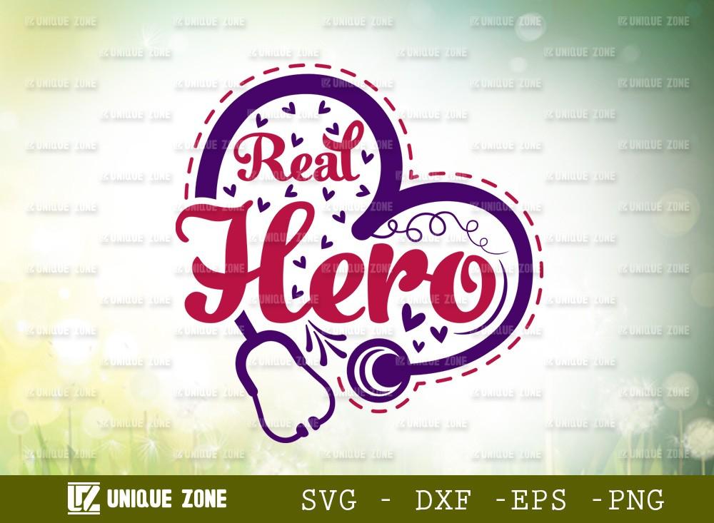Real Hero SVG Cut File | | Hero Svg | Valentine Day Svg