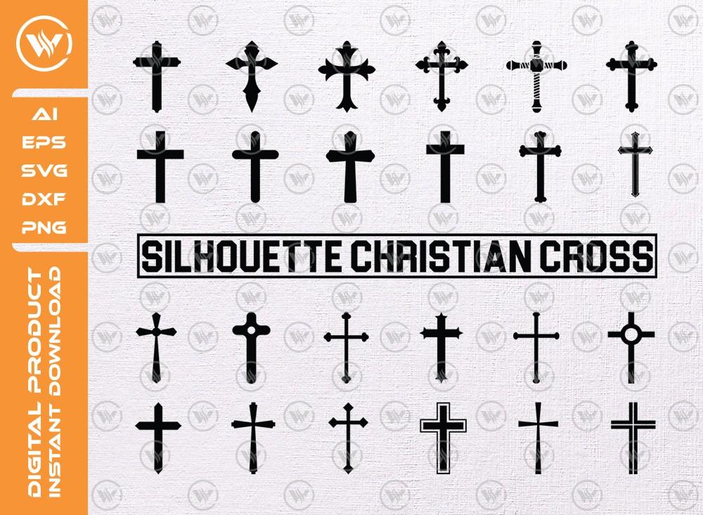 Cross Set SVG | Cross Levels | Cross Set Icon SVG Cut File