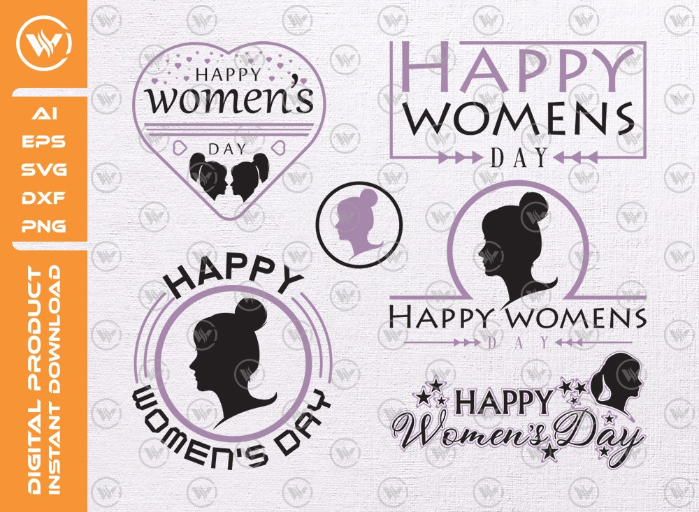 Happy Womens Day T-shirt | Womens Day SVG