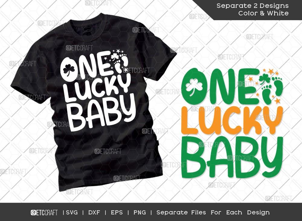 One Lucky Baby SVG | St Patricks Day Svg