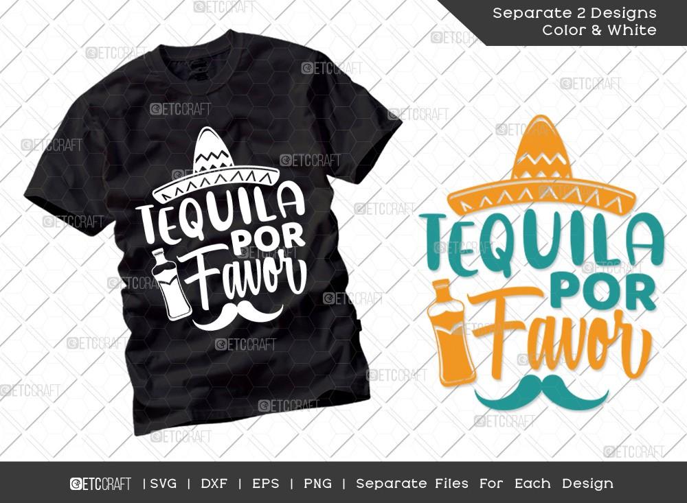 Tequila Por Favor SVG Cut File | Cinco De Mayo