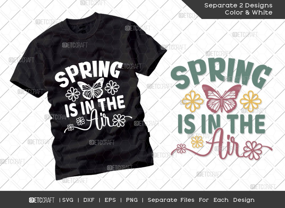 Spring Is In The Air SVG | Hello Spring Svg