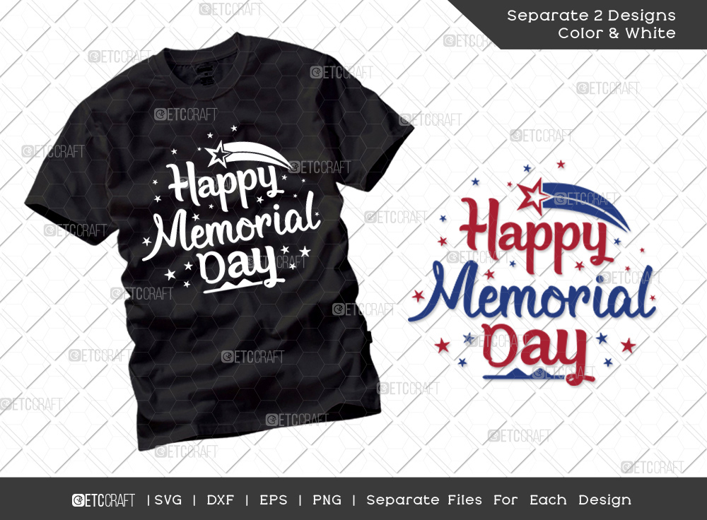 Happy Memorial Day SVG | Independence Day