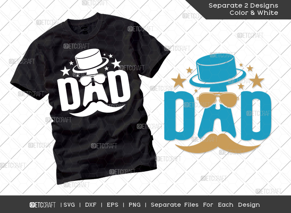 Dad SVG Cut File | Father's Day SVG
