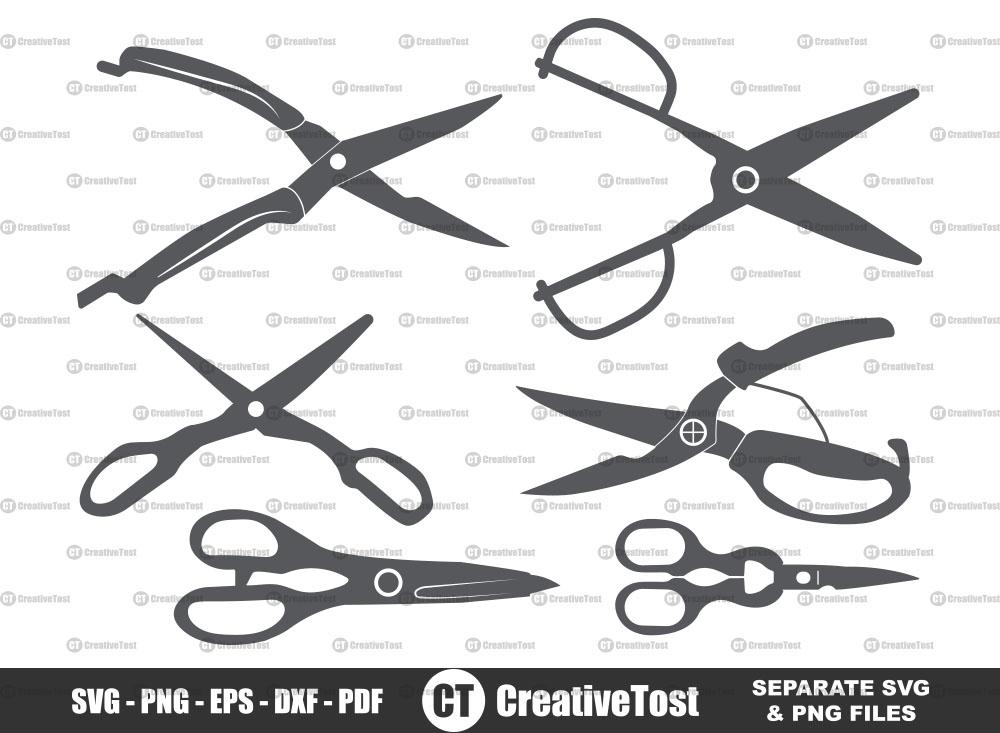 Kitchen Scissors SVG, Scissors Vector