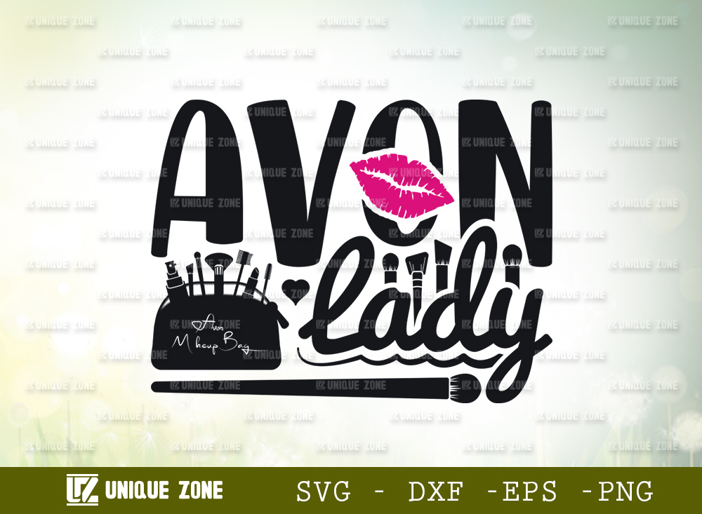 Avon Lady SVG   Avon Makeup Brand SVG