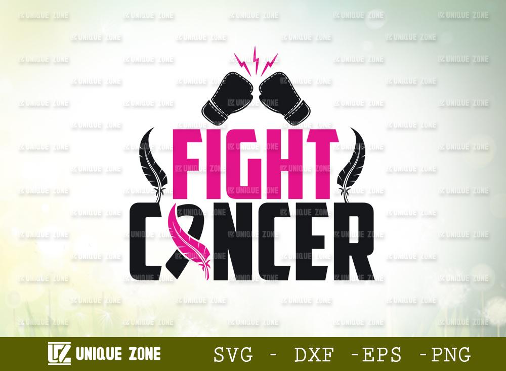 Fight Cancer SVG | Breast Cancer SVG