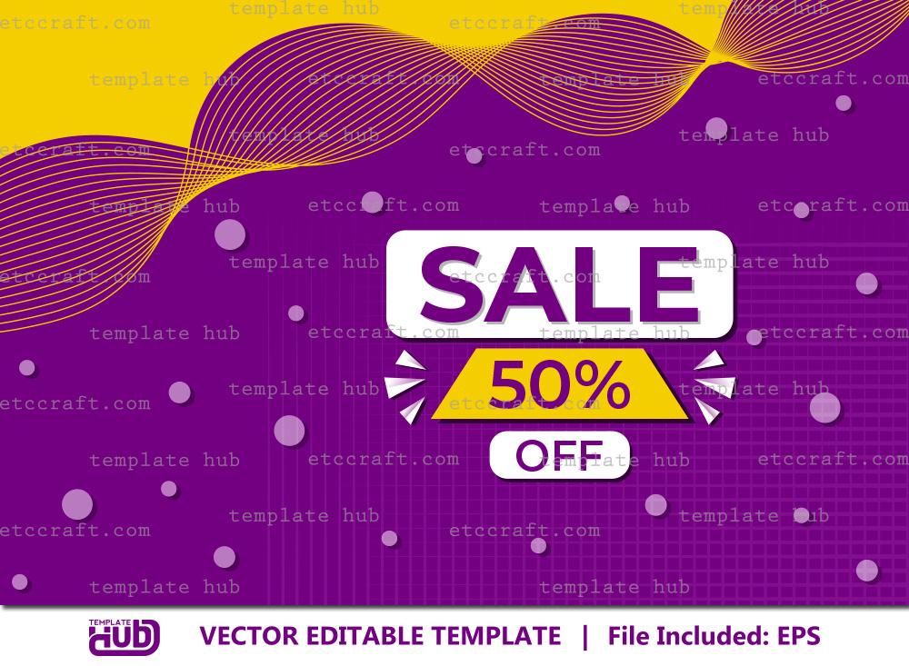 Sale Offer Banner, Sale Background