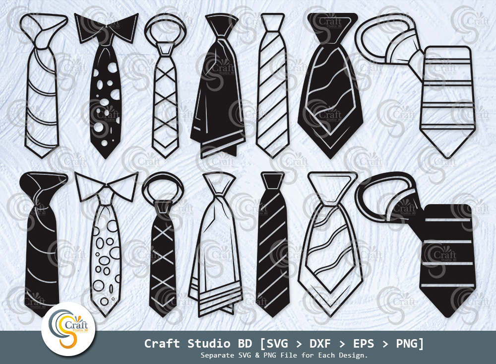 Tie Silhouette, Necktie Svg, Tuxedo Tie SVG