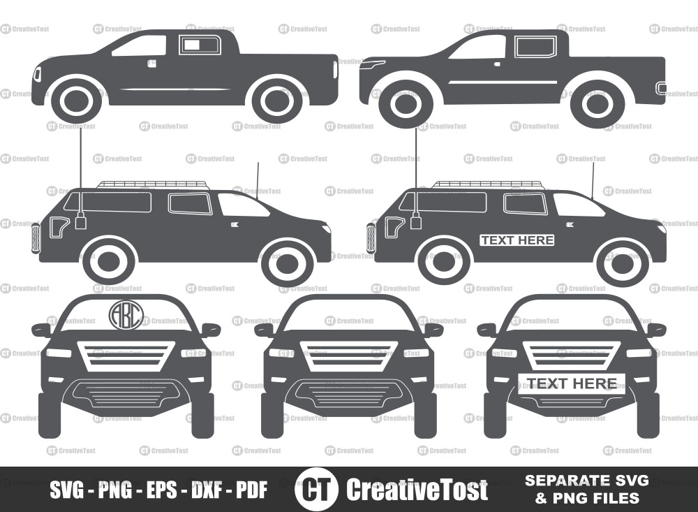 Toyota tundra SVG, Toyota tundra Monogram