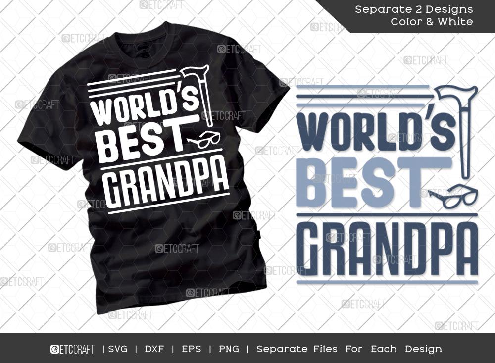 World's Best Grandpa SVG | Grandparents Shirt