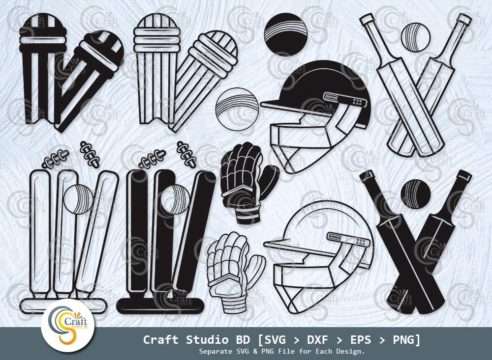 Cricket Silhouette, Cricket SVG Bundle