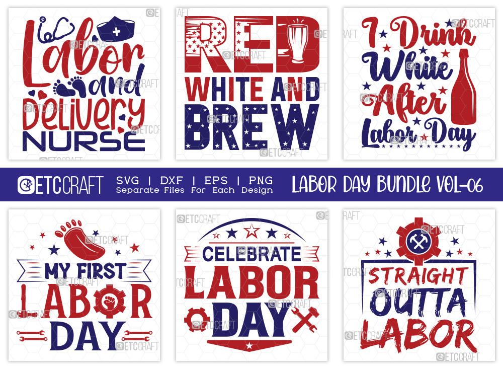 Labor Day SVG Bundle Vol-06 | Delivery Nurse