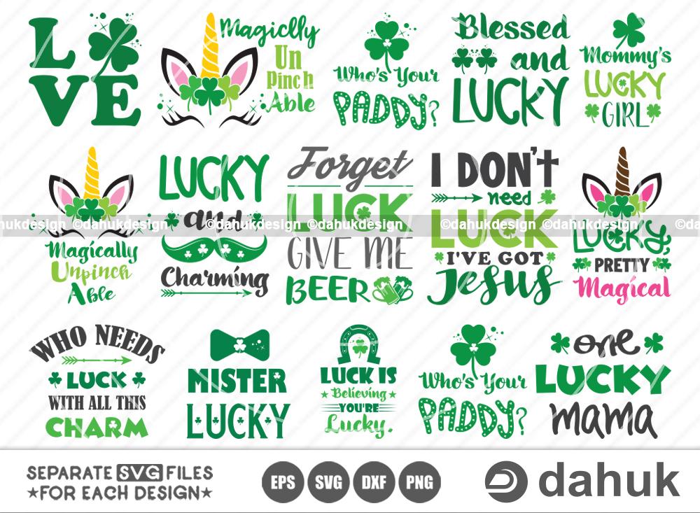 St Patricks Day Bundle SVG, Saint Patrick's Day