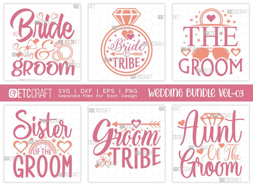 Wedding Bundle Vol-03 | Bride And Groom SVG