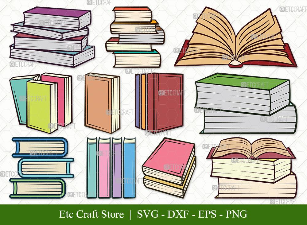 Book Clipart SVG Cut File | Book SVG