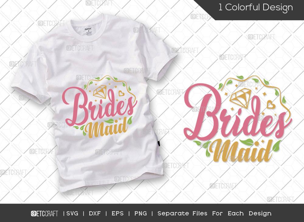 Brides Maid SVG Cut File | Groom SVG