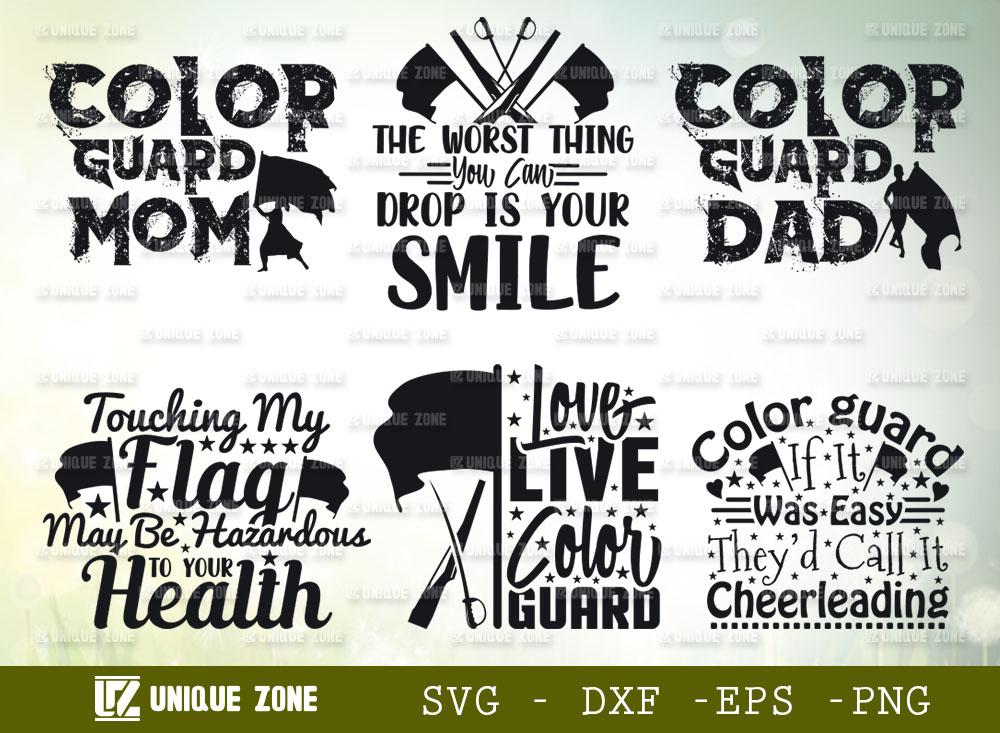 Color Guard Quotes Bundle | Color Guard SVG