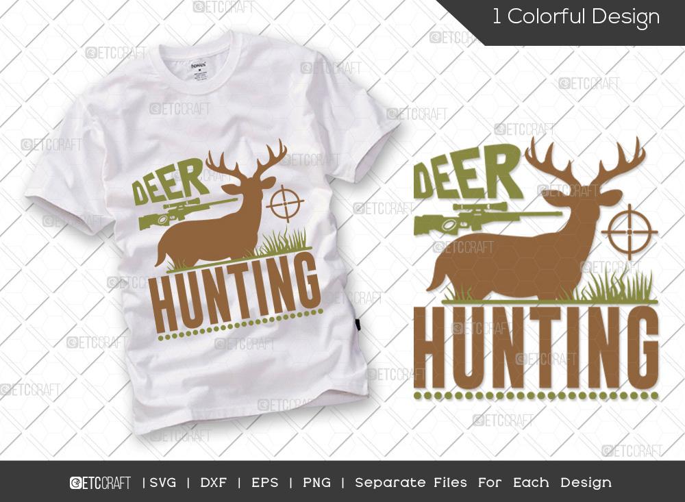 Deer Hunting SVG Cut File | Hunting Life SVG