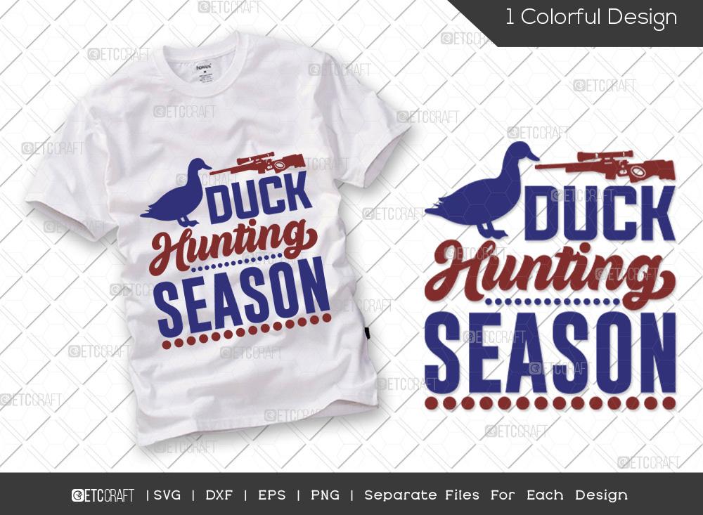 Duck Hunting Season SVG Cut File | Hunter SVG