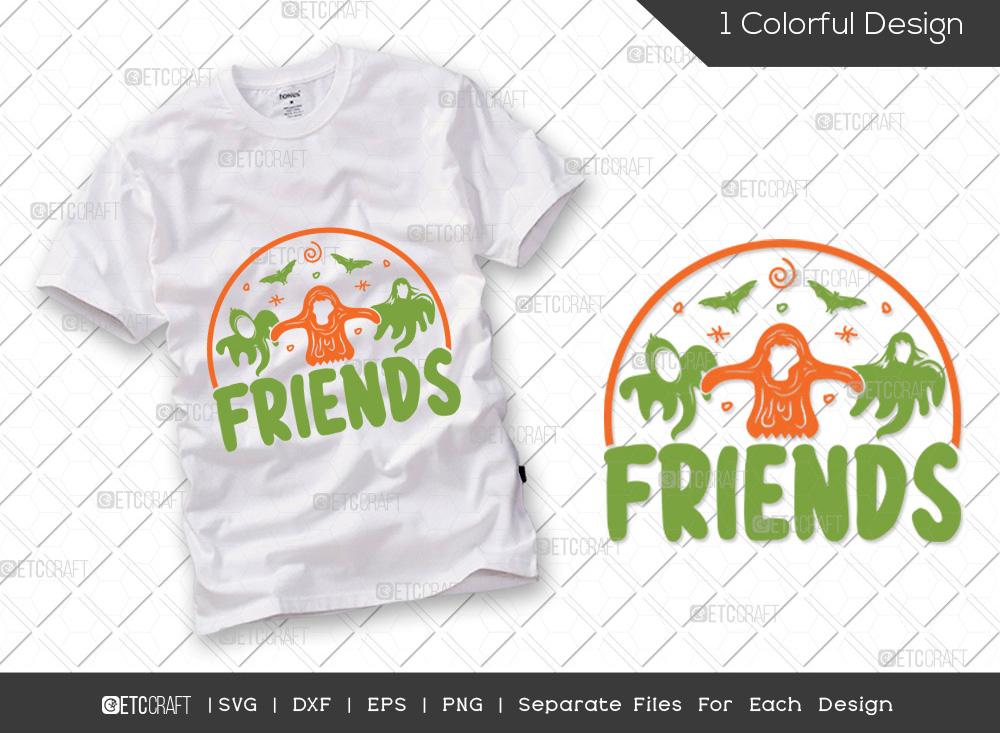 Friends SVG Cut File | Halloween SVG