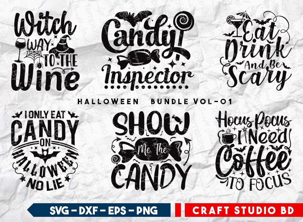 Halloween Bundle Vol-01 | Halloween SVG