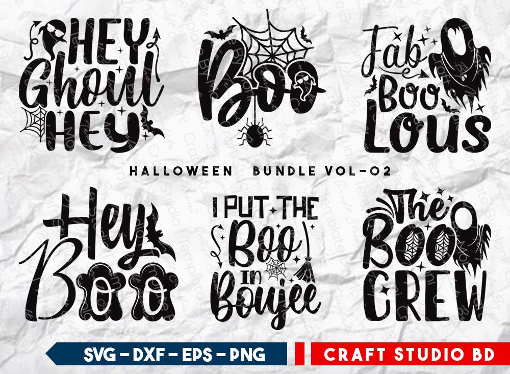 Halloween Bundle Vol-02 | Halloween SVG