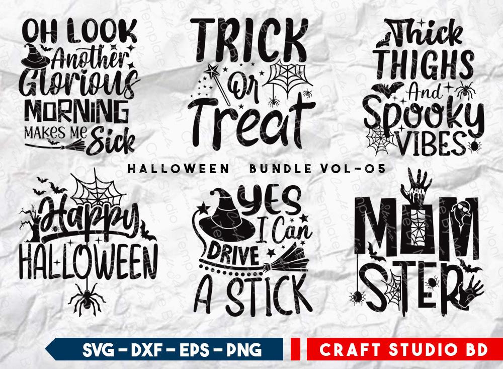 Halloween Bundle Vol-05 | Trick Or Treat SVG