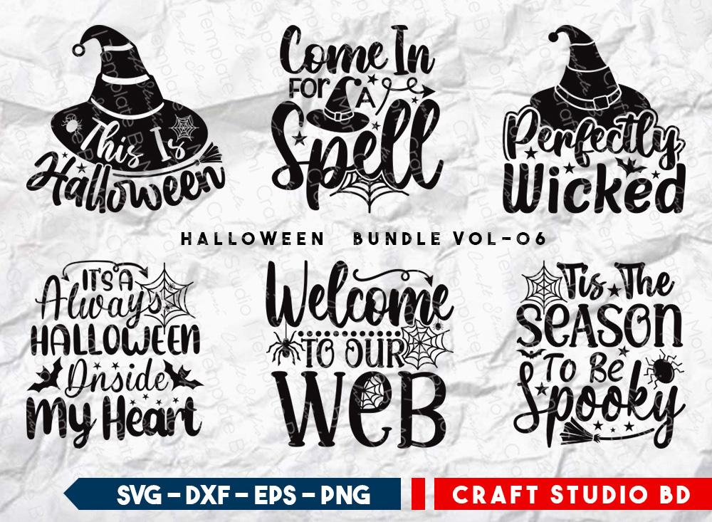 Halloween Bundle Vol-06   This Is Halloween SVG