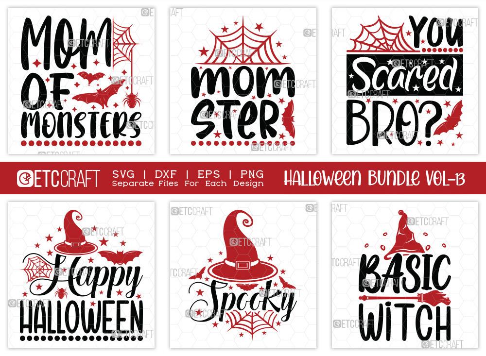 Halloween Bundle Vol-13 | Momsters SVG